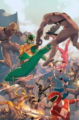 MIGHTY MORPHIN POWER RANGERS #1 Main Cover by Jamal Campbell