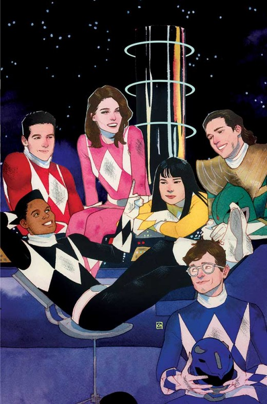 MIGHTY MORPHIN POWER RANGERS #1 Incentive 2: Kevin Wada