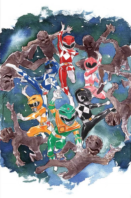 MIGHTY MORPHIN POWER RANGERS #1 Incentive 3: Dustin Nguyen