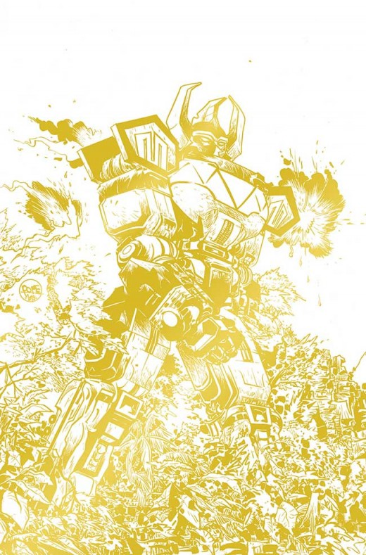 MIGHTY MORPHIN POWER RANGERS #1 Incentive 4: Paul Pope