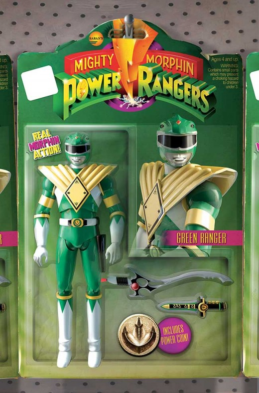 MIGHTY MORPHIN POWER RANGERS #1 Action Figure Variant: David Ryan Robinson