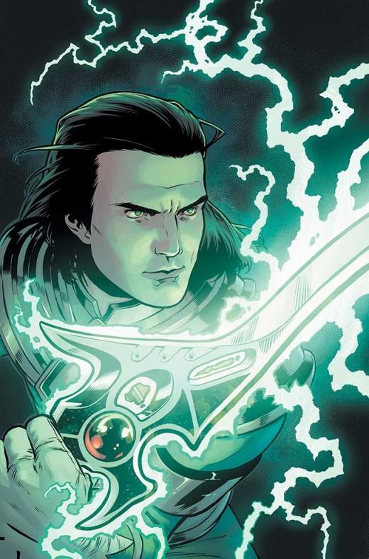 MIGHTY MORPHIN POWER RANGERS #1 Villain Variant: Rebekah Isaacs