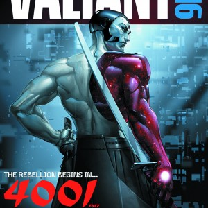 VALIANT 4001 A.D. SPECIAL FCBD 2016 EDITION VALIANT ENTERTAINMENT(W) Matt Kindt & Various (A) Clayton Crain & Various (CA) Clayton CrainThe most ambitious Valiant event yet starts right here on Free Comic Book Day with a shocking new vision of the future in 4001 A.D.! The war for the fate of the 41st century begins here with an exclusive, never-before-seen prelude to the blockbuster comics event of the summer by New York Times best-selling writer Matt Kindt and superstar artist Clayton Crain. Rai! Eternal Warrior! X-O Manowar! Bloodshot! Geomancer! Armstrong! And more! The future of the Valiant Universe begins here! Plus: An all-new look inside Valiant's next hit ongoing series, A&A, from Rafer Roberts and David Lafuente; Divinity II from Matt Kindt and Trevor Hairsine; and brand-new interviews, special features and surprises that no comic fan can afford to miss! 32pgs, FC