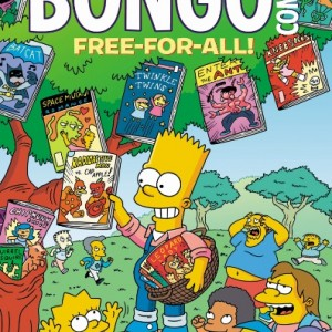 BONGO COMICS FREE-FOR-ALL FCBD 2016 EDITIONBONGO COMICS (W/A/CA) Matt GroeningGet in line for the foremost Free Comic Book Day four-color giveaway of the year! Pieman and the Cupcake Kid take on a new crime team, Glutenus Maximus and his sidekick Gluten Tag, whose pastry-related misdeeds have led to a ban on all baked goods in Springfield! How will the heroic duo battle their foes without their arsenal of pies and cupcakes, and what's worse…what will Homer do without his daily dose of donuts? Then, after an unfortunate trip to the dentist, Principal Skinner is mistaken for a vampire. It doesn't help that Bart fuels the fire (and supplies the pitchforks) to an unruly mob uprising. All that and much, much more — and it's all free!32pgs, FC