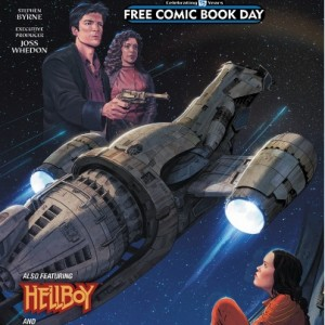 DARK HORSE SERENITY/HELLBOY/ALIENS FCBD 2016 EDITION DARK HORSE COMICS   (W) Mike Mignola & Various (A) Tristan Jones & Various (CA) Sean Cooke  Need a reason to pick up Dark Horse Comics' 2016 Free Comic Book Day offering? Here's three: From Mike Mignola and Richard Corben, a lesson from Hellboy's past is shared. From Brian Wood, a peek into the Aliens: Defiance series with an original tale. And from the world of Joss Whedon, a glimpse at the crew of the Serenity, following the film and the smash-hit series Leaves on the Wind!   32pgs, FC