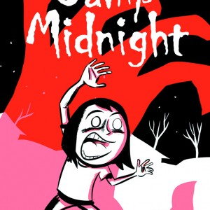 """CAMP MIDNIGHT FCBD 2016 EDITION IMAGE COMICS(W) Steven T. Seagle (A/CA) Jason Adam KatzensteinAdd a touch of spooky to your Free Comic Book Day this year with the first chapter of Ben 10 and Big Hero 6 creator Steven T. Seagle and New Yorker Magazine cartoonist Jason Adam Katzenstein's Camp Midnight! Not wanting to please her """"step monster,"""" reluctant Skye is dead-set on not fitting in. But when she's accidentally sent to the wrong summer camp — Camp Midnight, where everyone attending is a full-fledged monster — Skye realizes that not fitting in will be the very least of her challenges! Camp Midnight is the perfect book for readers who love Raina Telgemeier's Smile but wish it had more bowls of gooey eyeballs in the lunch scenes.32pgs, FC"""