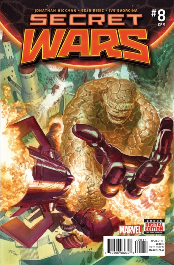 Secret Wars 8 cov