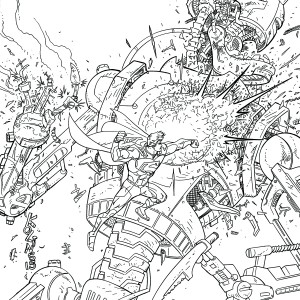 ACTION COMICS #48 by Scott Kolins