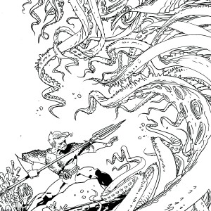 AQUAMAN #48 by Andy Kuhn