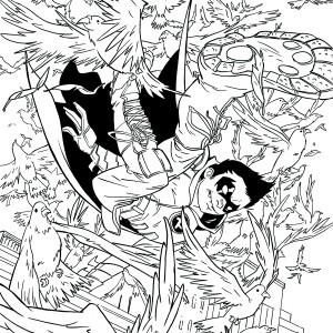 ROBIN, SON OF BATMAN #8 by Sanford Greene