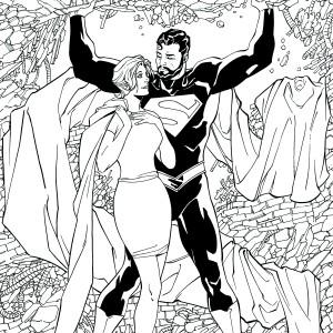 SUPERMAN: LOIS AND CLARK #4 by Aaron Lopresti