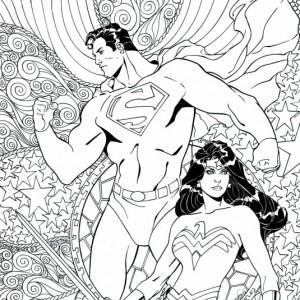 SUPERMAN/WONDER WOMAN #25 by Aaron Lopresti