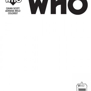 Doctor Who Ninth Doctor 01_Cover_F_Blank