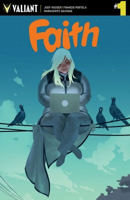 FAITH #1 (of 4) THIRD PRINTING – Cover by Jelena Kevic-Djurdjevic