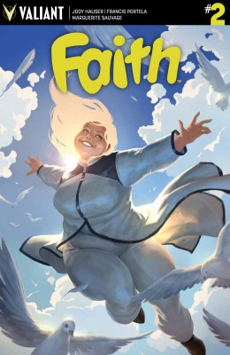 FAITH #2 (of 4) – Cover A by Jelena Kevic-Djurdjevic