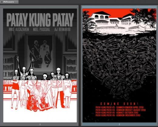 Patay Kung Patay 03 cov and solicits