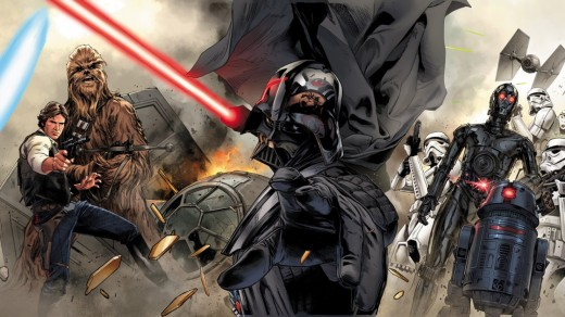 Star Wars Vader Down 02 feat