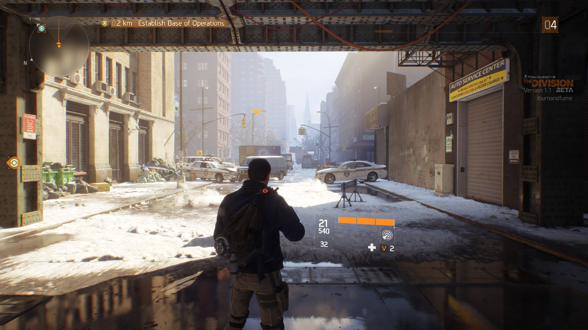 The Division PC Open Beta Test
