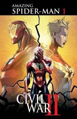 Civil War II Amazing Spider-Man 01 cov