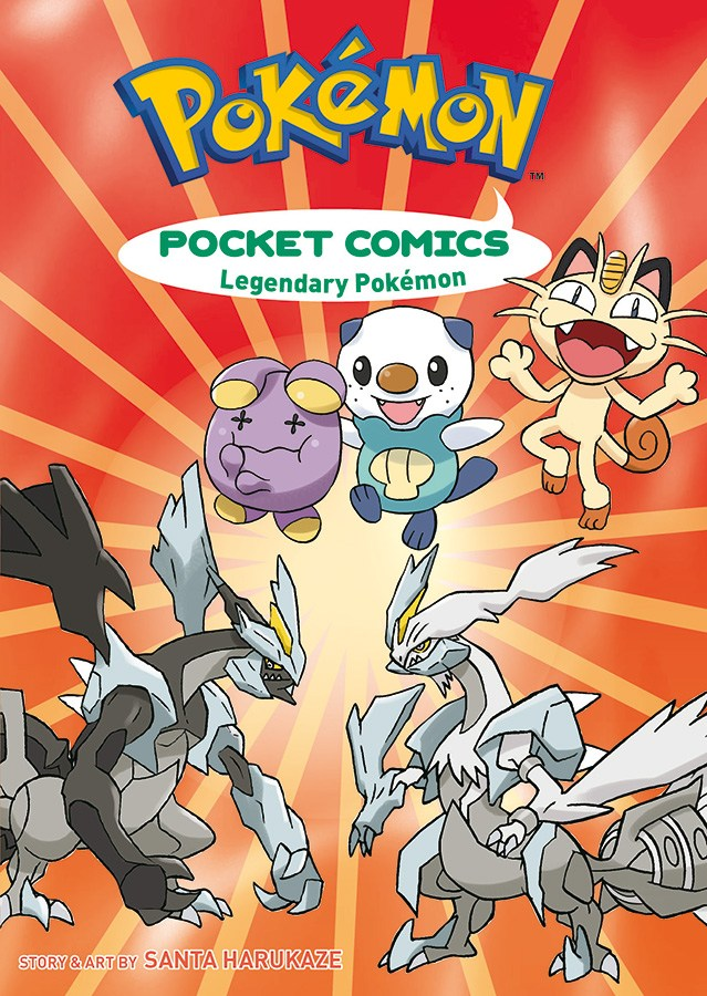 Pokemon Pocket Comics LegendaryPokemon-Vol 02
