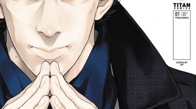 Sherlock Manga cov