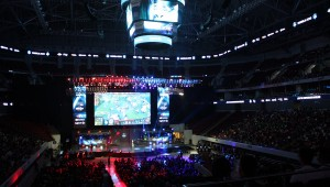 ESL One view