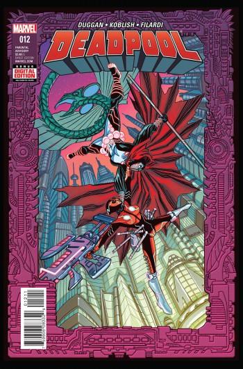 Deadpool 12 cov