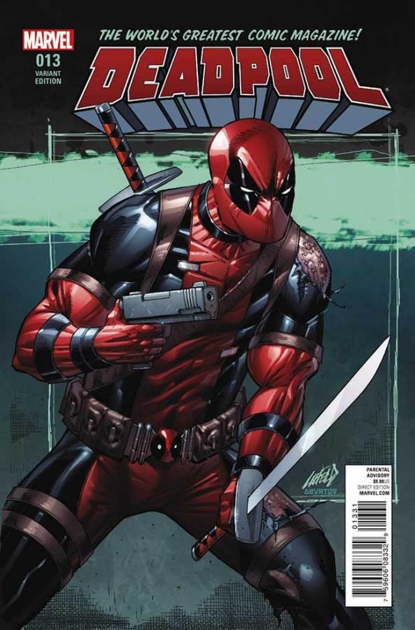 Deadpool 13 var