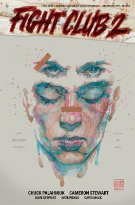 Fight Club 2 Hardcover collection, Cover by David Mack