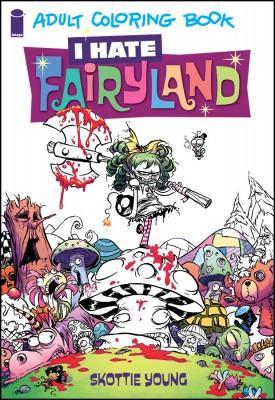 I Hate Faityland Coloring cov