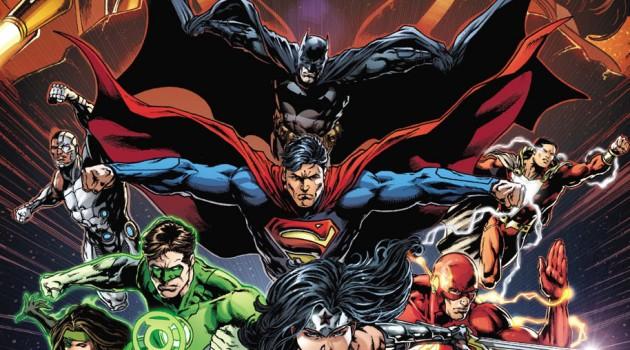 Justice League 50 cov
