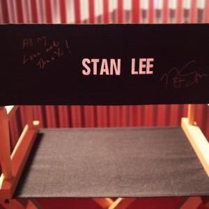 Stan Lee's seat. Mmm.