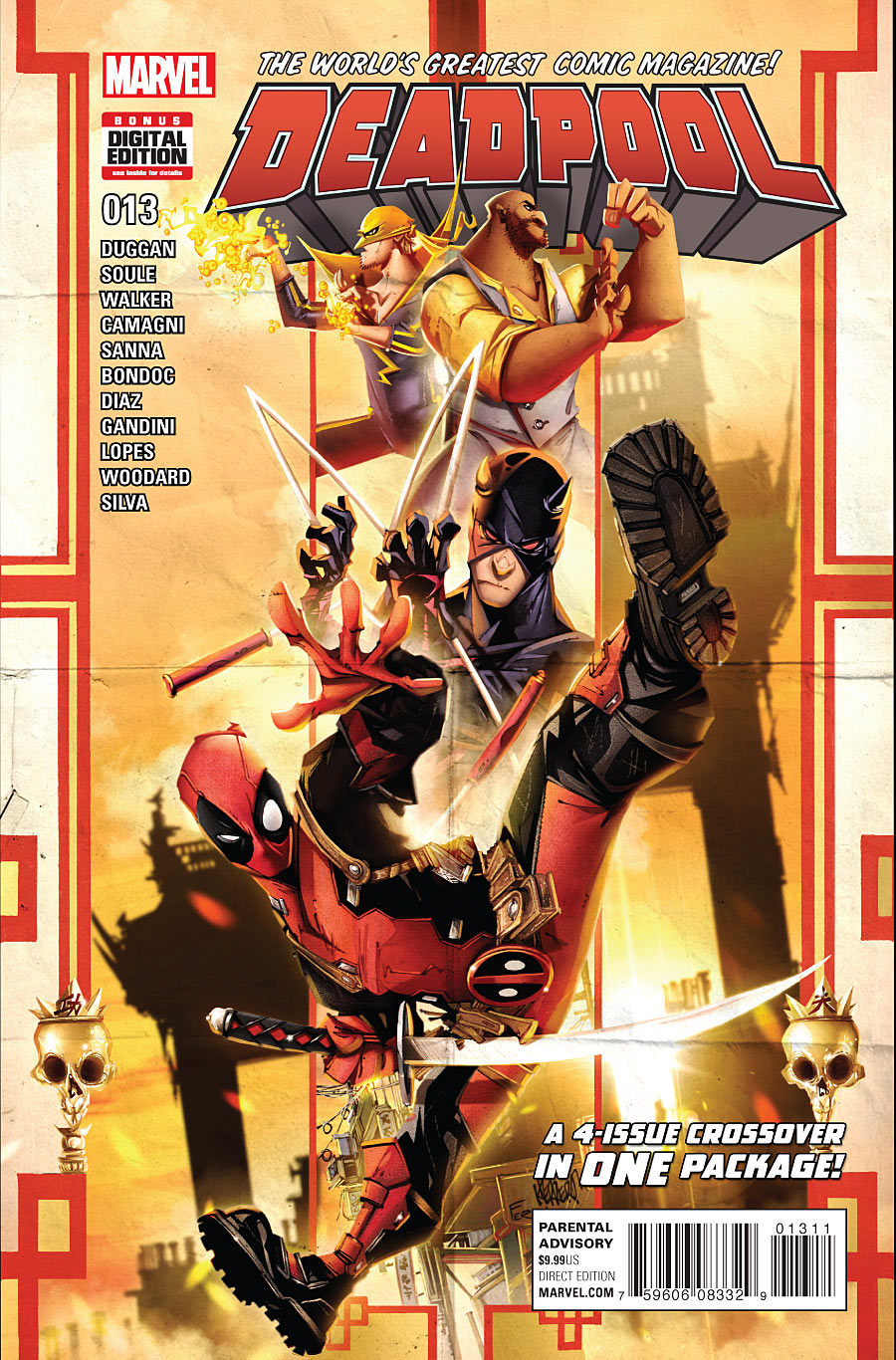 Deadpool #13 Marvel Comics Giant 96 Pages 1st Printing