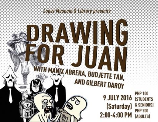 Drawing for Juan