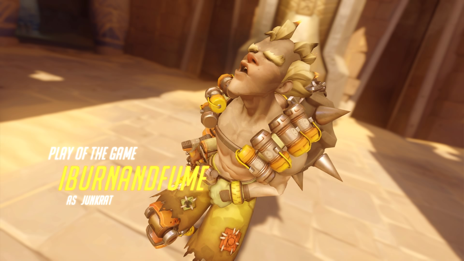 Only Junkrat was hurt in the making of this review.