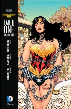 Wonder Woman Earth One cov
