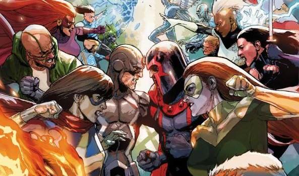 Inhumans vs XMen 01 cov