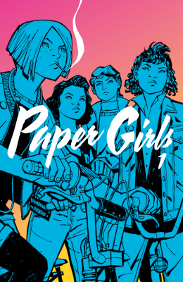 Best New Series Paper Girls, by Brian K. Vaughan and Cliff Chiang (Image)