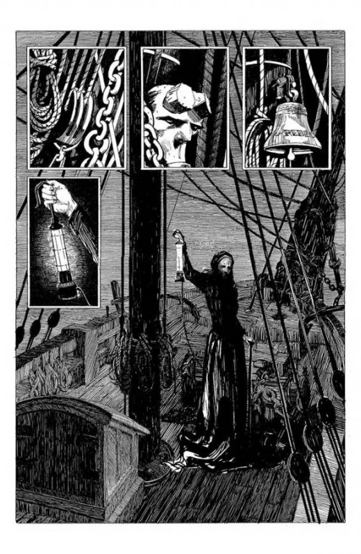 Hellboy into the silent sea GN 01