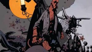 Hellboy into the silent sea GN cov