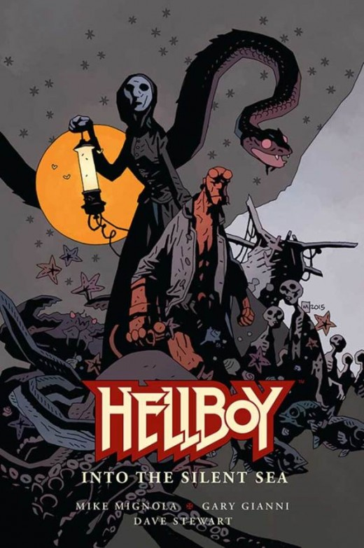Hellboy into the silent sea GN cov