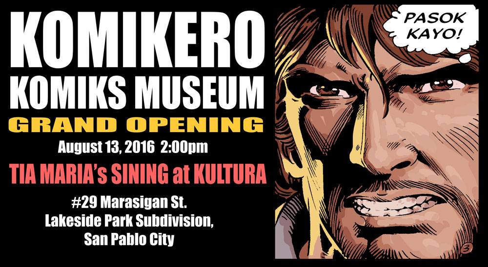EVENT Komikero Komiks Museum Grand Opening