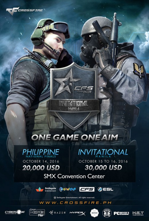 Official CFS Invitational Manila 2016 Poster