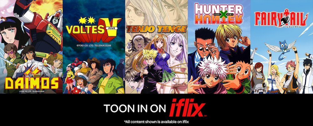 Voltes v daimos and other beloved anime shows to debut on iflix telesuccess on iflix stopboris Gallery