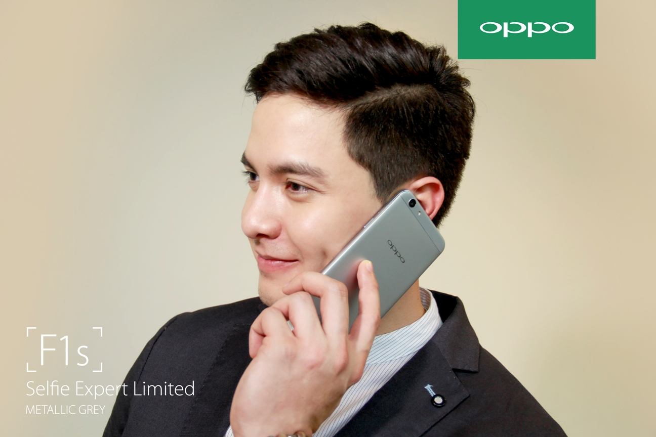 Alden Richards Is The New Endorser For Oppo F1s Limited