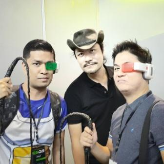 Here's our fanboy moment with the legend himself, Mr Koji Igarashi.