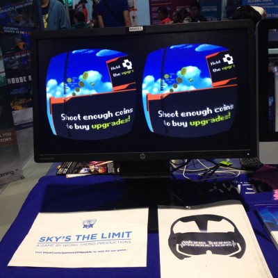 Sky's The Limit Game demo at ESGS