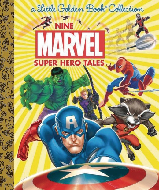 9-marvel-super-hero-tales-little-golden-book-hc