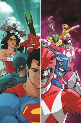 Justice League Power Rangers