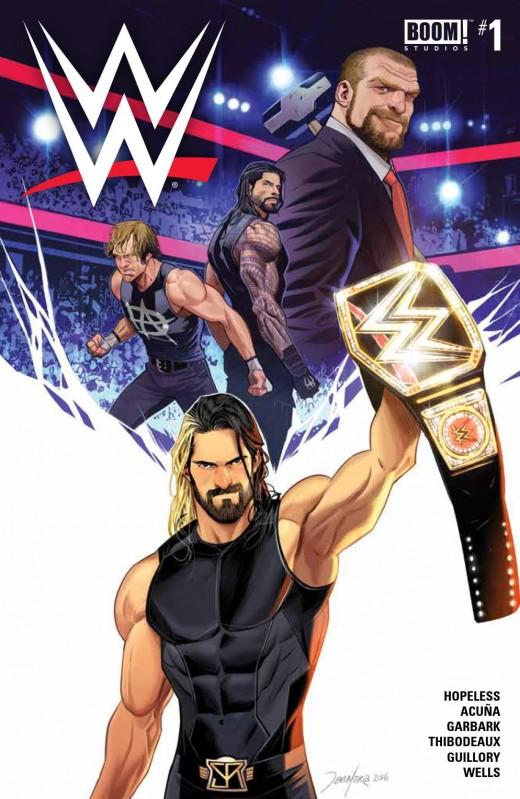WWE #1 MAIN CVR